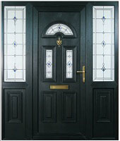 Black Composite Door Dublin