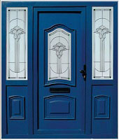 Blue Composite Doors Dublin