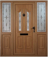 Brown Composite Doors in Dublin