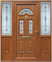 Red composite Doors Dublin