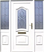 White Designer Composite Door Dublin